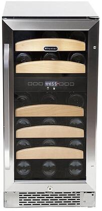 Whynter BWR281DZ Wine Cooler 26-50 Bottles Stainless Steel, Main Image
