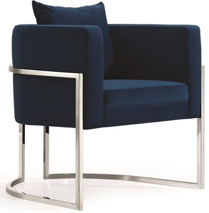 Meridian Pippa 524Navy Accent Chair Blue, Main Image