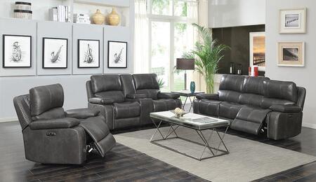 Coaster Ravenna 603211PPS3 Living Room Set Gray, Main Image
