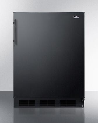 Summit  FF63BK Compact Refrigerator Black, FF63B Compact Refrigerator