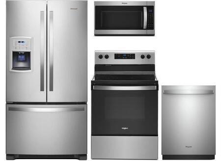 Whirlpool  991711 Kitchen Appliance Package Stainless Steel, Main Image