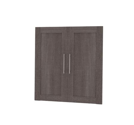 Bestar Furniture 261661147 Cabinet Hardware, bestar pur murphy bed bark grey 26166 47