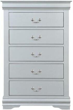 Acme Furniture Louis Philippe III 26706 Chest of Drawer Platinum, Main Image