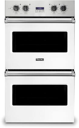 Viking 5 Series VDOE130WH Double Wall Oven White, 1