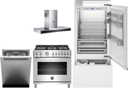 Bertazzoni 975811 Kitchen Appliance Package & Bundle Panel Ready, main image