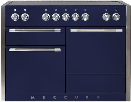 AGA Mercury AMC48INSKY Freestanding Electric Range Blue, Main Image