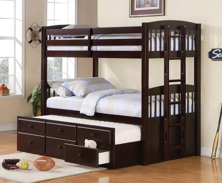 Coaster Kensington Twin Size Storage Bed 460071 Cappuccino Appliances Connection