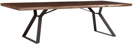 World Interiors Nottingham ZWNTHMDT106 Dining Room Table, ZWNTHMDT106 Front
