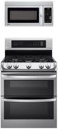 LG  1311171 Kitchen Appliance Package Stainless Steel, Main image