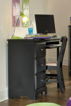 Carolina Furniture Midnight 431300 Desk Black, Main Image