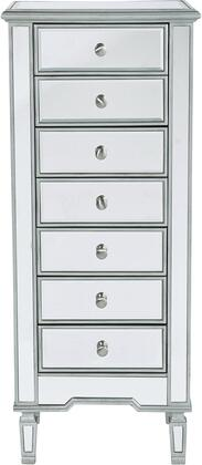 Elegant Lighting Reflexion MF61047S Chest of Drawer, MF6 1047S