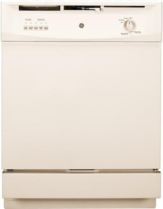 GE GSD3300KCC Built-In Dishwasher Bisque, Exterior