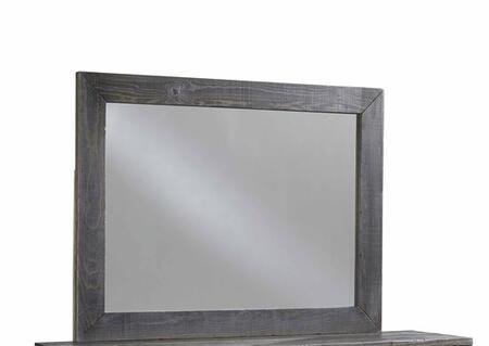 Progressive Furniture Wheaton B62250 Mirror Gray, Main Image