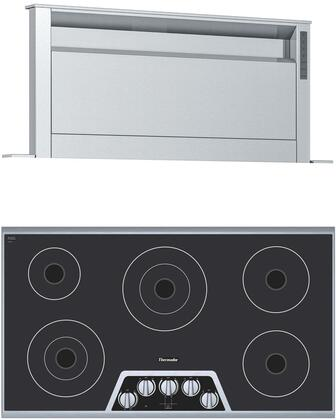 Thermador  1071394 Kitchen Appliance Package Stainless Steel, main image