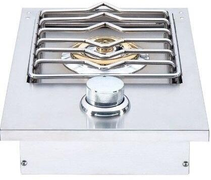 HTSB1-NG 13″ Natural Gas Side Burner with 12000 BTU in Stainless