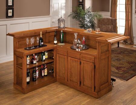 Hillsdale Furniture Classic 6257AX Bar Brown, 1