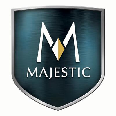 Majestic  SLP48BK Fireplace Accessory Black, Majestic