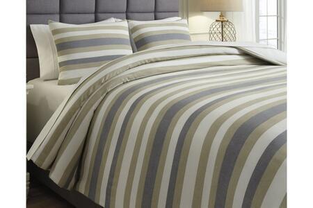Signature Design by Ashley  Q432003Q Comforter Gray, Image 1