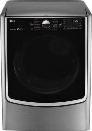 LG Twin Wash DLGX5001V Gas Dryer Chrome, Main Image
