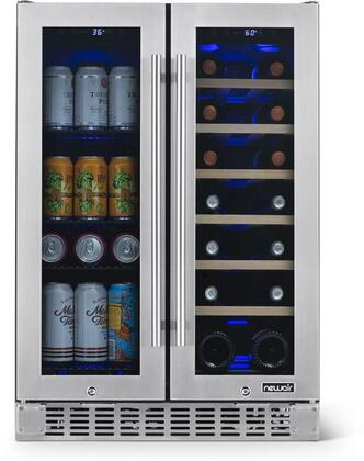 NewAir  NWB080SS00 Beverage Center Stainless Steel, NWB080SS00 Beverage Center