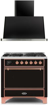 Ilve  1259777 Kitchen Appliance Package Black, Main image
