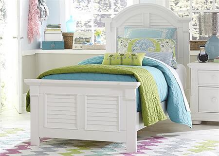 Liberty Furniture Summer House 607YBRTPB Bed White, Main Image