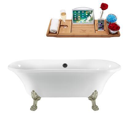 Streamline  N861BNKBL Bath Tub White, N861BNK BL 1