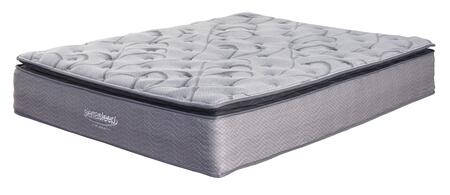 Curacao Collection M84231 Queen Mattress with Gel Memory Foam  Plush Comfort Level and Waterproof Zip-On Cover in
