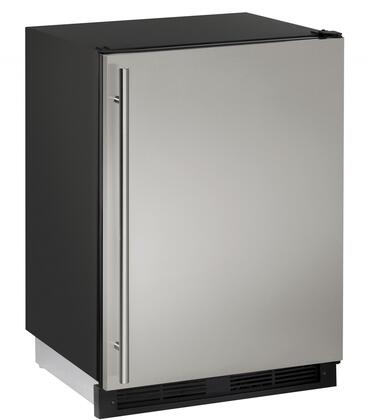 U-Line 1000 UCO1224FS00B Compact Refrigerator Stainless Steel, Main Image