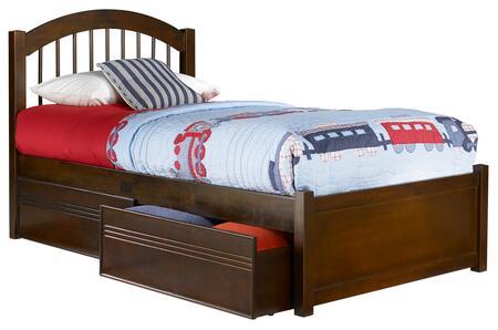 Atlantic Furniture Windsor AP9412114 Bed Brown, AP9412114 SILO BD2 30