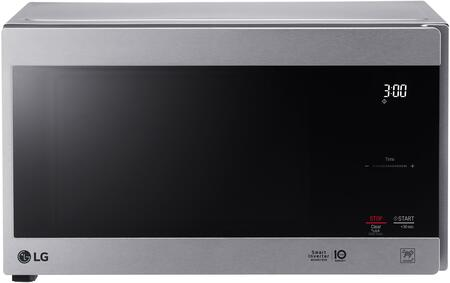 LG  LMC0975ST Countertop Microwave Stainless Steel, Main Image