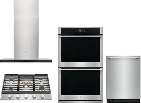 Electrolux  1455745 Kitchen Appliance Package Stainless Steel, Main image
