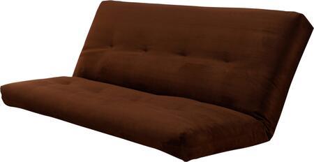 Kodiak Furniture  KFSCHOCF6M1 Mattress , mattress only sit suede chocolate