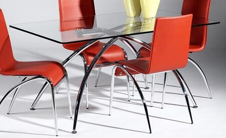 Chintaly Elaine ELAINEDT Dining Room Table, Without Chairs