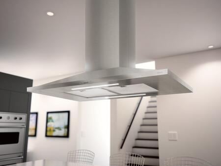 Zephyr ZAZ-M90CS 600 CFM 36 Inch Wide Island Range Hood from the Anzio Series