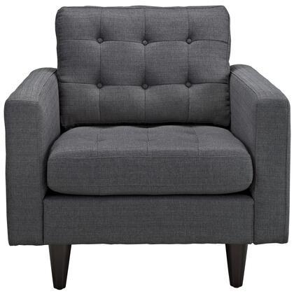 Modway Empress EEI1013DOR Accent Chair Gray, 1