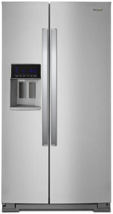 Whirlpool  WRS588FIHZ Side-By-Side Refrigerator Stainless Steel, Main Image