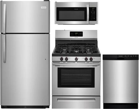 Frigidaire 890778 Kitchen Appliance Package & Bundle Stainless Steel, 1