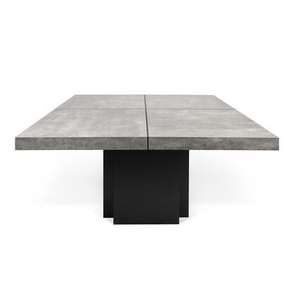 Tema Home Dusk 9500613265 Dining Room Table Gray, 5603449613265.MAIN