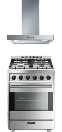 Smeg 714837 Kitchen Appliance Package & Bundle Stainless Steel, smegstainlesssteelrangehoodpackage6