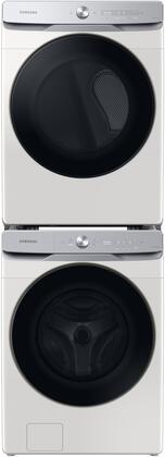 Samsung  1396931 Washer & Dryer Set White, 1