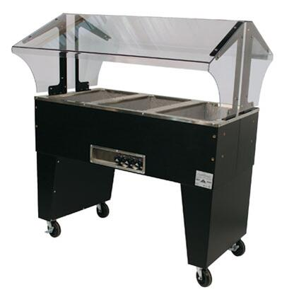 Advance Tabco  B3120BX Commercial Electric Steam Table Black, Open Base