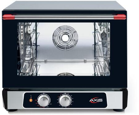 Axis  AX513 Commercial Convection Oven Black, AX-513 Half Size Convection Oven