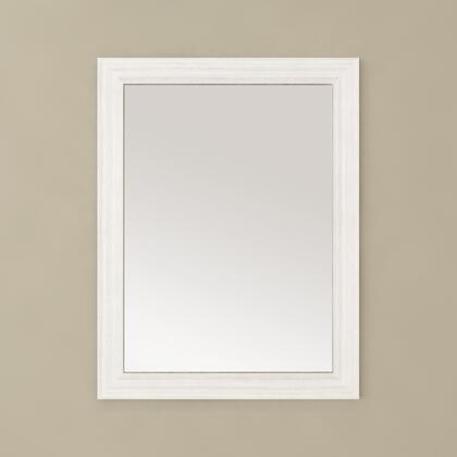 Cutler Kitchen and Bath Silhouette FVMIRROR23X30WCHOC Mirror White, Main Image