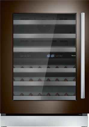 Thermador  T24UW900LP Wine Cooler 26-50 Bottles Panel Ready, T24UW900LP 24-Inch Under-Counter Wine Reserve with Glass Door