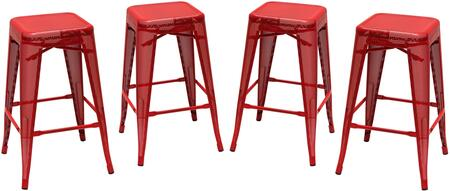 MESHSTRE4PK_Mesh_Serie_Backless_Metal_Stool_(Set_of_4)_with_Metal_Legs__Leg_Rest_and_Square_Shape_Seat__in