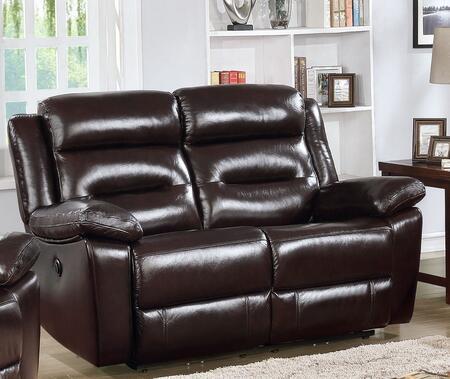 Acme Furniture Flavie 52006 Loveseat Brown, 1