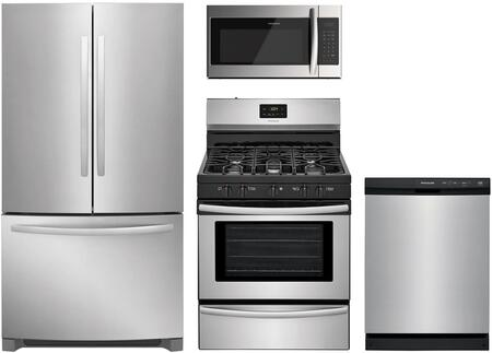 Frigidaire 988370 Kitchen Appliance Package & Bundle Stainless Steel, 1