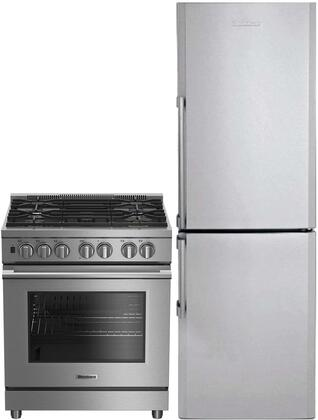 Blomberg 731759 Kitchen Appliance Package Stainless Steel, 1