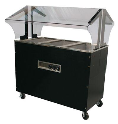 Advance Tabco  B3120BSBX Commercial Electric Steam Table Black, Enclosed Base
